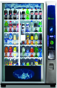 Maquina vending para bebidas frias